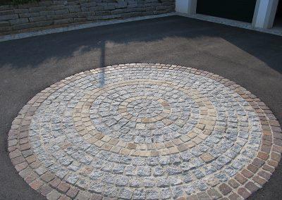 Pflasterwürfel, Porphyr, Granit, Sandstein
