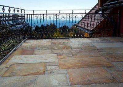 Sandstein Bodenplatten