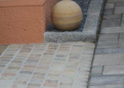Sandsteinwürfel