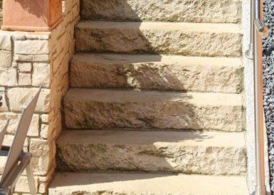 Blockstufen Sandstein
